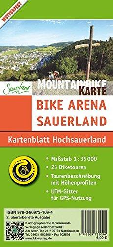 9783869731094: Bike Arena Sauerland 03 Mountainbikekarte Hochsauerland