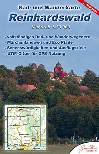 Reinhardswald 1 : 33 000: Rad- und Wanderkarte