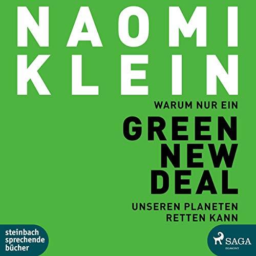 Warum nur ein Green New Deal unseren Planeten retten kann, 2 Audio-CD, MP3 - Klein, Naomi