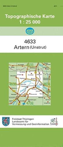 9783869792019: Artern (Unstrut) 1 : 25 000