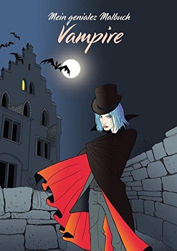 9783869810058: Mein geniales Malbuch: Vampire