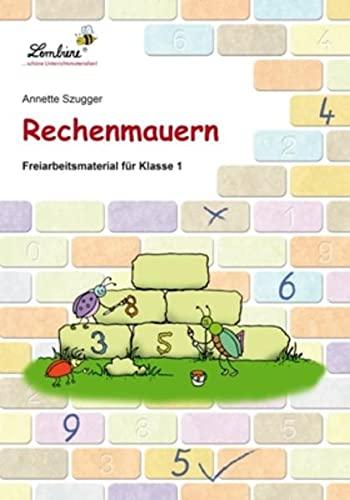 9783869986371: Rechenmauern: Grundschule, Mathematik, Klasse 1