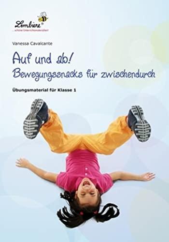 9783869986524: Auf und ab! Bewegungssnacks für Zwischendurch (PR): Grundschule, Fördern & Fordern, Klasse 1-4