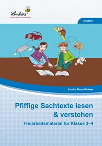 9783869989440: Pfiffige Sachtexte lesen & verstehen (PR): Grundschule, Deutsch, Klasse 3-4
