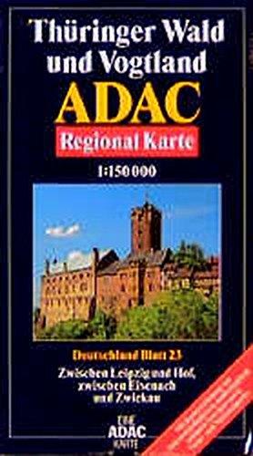 9783870034320: ADAC Karte 1:150 000: Jede Strasse--jeder Ort