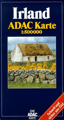 9783870034559: Irland Adac Karte