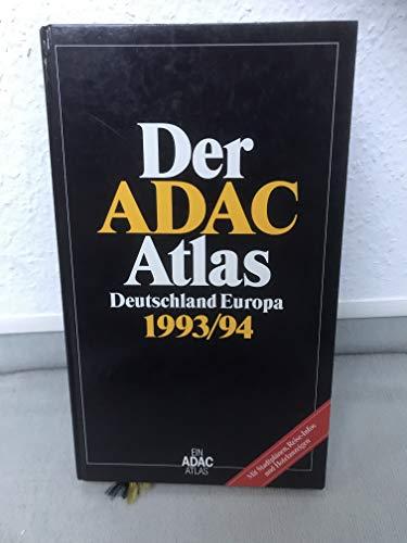9783870034771: Der ADAC Atlas Deutschland /Europa 1994/95