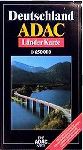 9783870037505: ADAC Karte, Deutschland