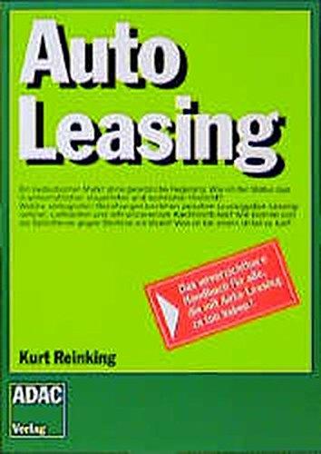 9783870038823: Auto Leasing.