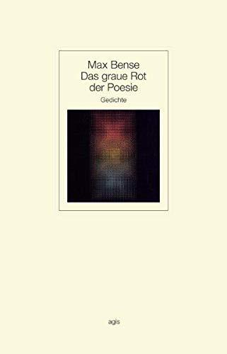 9783870070267: Das graue Rot der Poesie: Gedichte