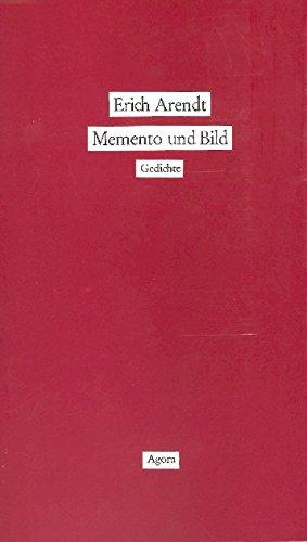 9783870080655: Memento und Bild: Gedichte (Livre en allemand)