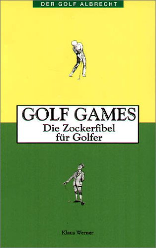 9783870141530: Golf Games