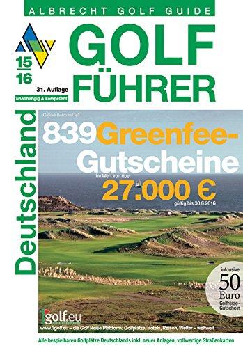 9783870143275: Golf Führer Deutschland 2015/2016