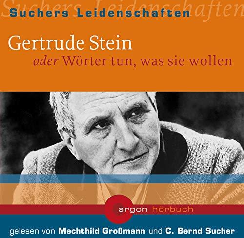 9783870240387: Suchers Leidenschaften: Gertrude Stein: Oder Wörter tun, was sie wollen