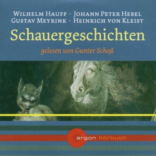 9783870249113: Various: Schauergeschichten