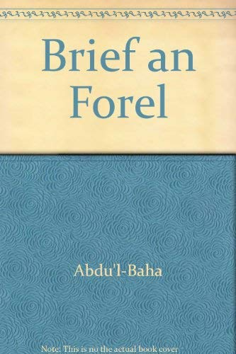 9783870370725: Brief an Forel