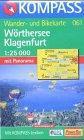 9783870512620: Carte touristique : Wörther See, Klagenfurt