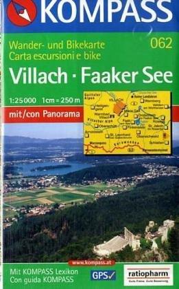 9783870517045: Carte touristique : Villach, Faaker See