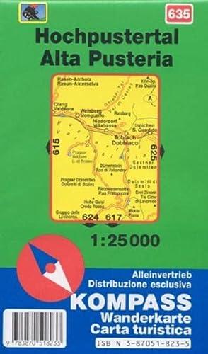 9783870518233: Carta escursionistica n. 635. Alta Pusteria 1:25.000 (Carte de Randon)