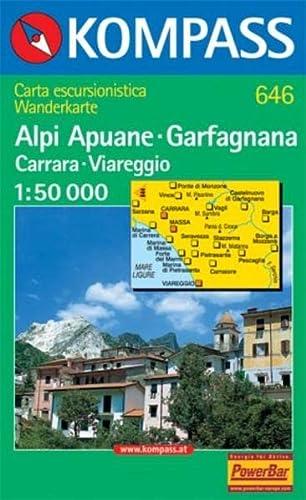 9783870518523: Alpi apuane/garfagnana  1/50.000 n 646 (Carte de Randon)