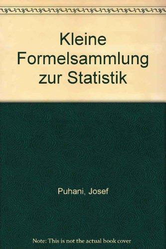 9783870527280: Kleine Formelsammlung zur Statistik