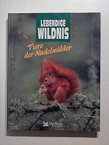 Lebendige Wildnis. Tiere der Nadelwälder. Waschbären, Wanderfalken,: Fritz Dieterlen