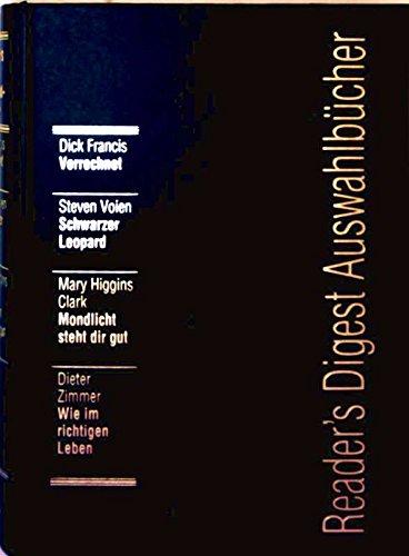 Verrechnet / Schwarzer Leopard / Mondlicht steht: Francis, Dick /