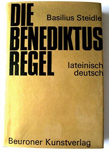 9783870710231: Die Benediktusregel. Lateinisch-deutsch