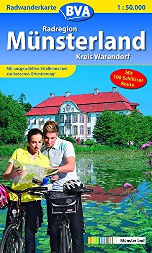Lust auf Radwandern, Radelpark Münsterland, Kreis Warendorf - BVA verlag kreiswanderkarten