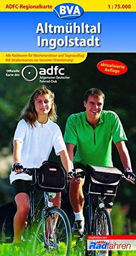 Altmühltal, Ingolstadt. Hrsg.: Allgemeiner Deutscher Fahrrad-Club (ADFC e.V.) / BVA Bielefelder Verlag: ADFC-Regionalkarte; Bielefelder Radkarten
