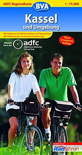 9783870731922: ADFC-Regionalkarte Kassel und Umgebung 1 : 75 000