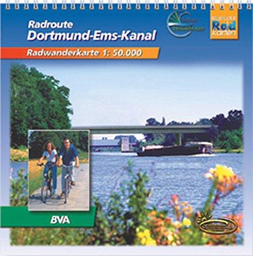 9783870732400: Rad-Route Dortmund-Ems-Kanal 1 : 50 000. Radwanderkarte: Mit ausgewählten Straßennamen zur besseren Orientierung