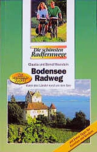9783870732592: Bodensee-Radweg durch drei Länder rund um den See.