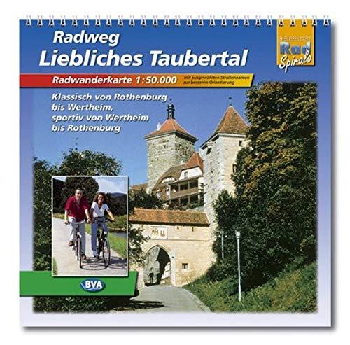9783870733148: Radweg Liebliches Taubertal 1 : 50 000. Radwanderkarte.