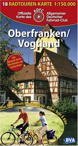 9783870733742: Oberfranken, Vogtland Cycling Map (Germany Cycling Route Map Series, 18)