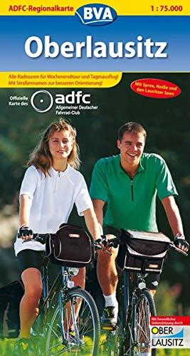9783870733933: ADFC-Regionalkarte Oberlausitz 1 : 75.000: Alle Radtouren für Wochenendtour und Tagesausflug! Mit Straßennamen zur besseren Orientierung