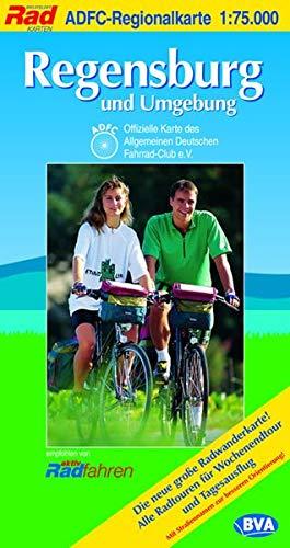 9783870733940: ADFC-Regionalkarte Regensburg und Umgebung 1 : 75.000: Die neue gro�e Radwanderkarte! Alle Radtouren f�r Wochenendtour und Tagesausflug