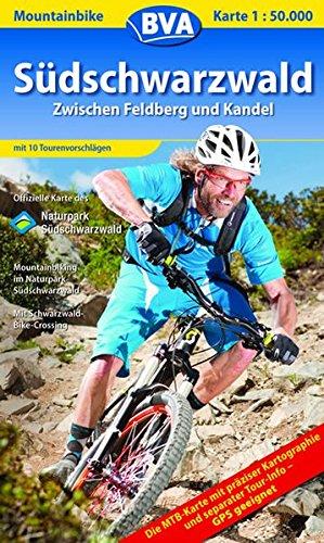 Südschwarzwald (Zentral) Mountainbike-Karte 1 : 50.000: Zwischen Feldberg und Kandel. Mit 10 ...