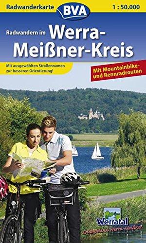 9783870734435: Werra-Mei�ner-Kreis 1 : 50 000. Radwanderkarte