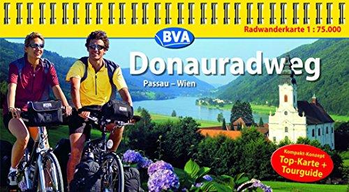 Donauradweg (Passau-Wien) 1 : 75 000