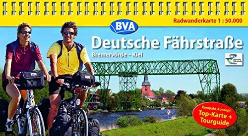 9783870734596: Deutsche Fährstraße 1 : 50 000: Kompakt-Spiralo. Radwanderkarte. Bremervörde - Kiel