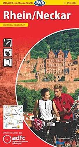 9783870735166: ADFC-Radtourenkarte 20 Rhein / Neckar 1 : 150 000