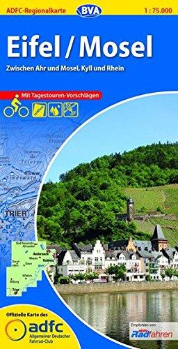 9783870735616: ADFC-Regionalkarte Eifel / Mosel 1 : 75.000: Alle Radtouren f�r Wochenendtour und Tagesausflug! Mit Stra�ennamen zur besseren Orientierung!