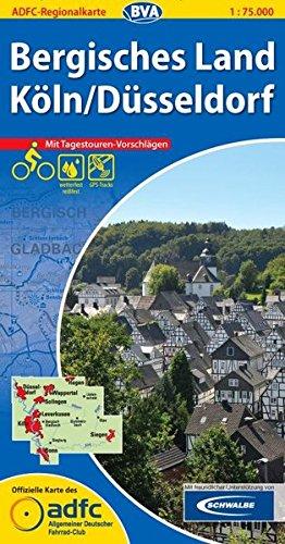 9783870735715: Bergisches Land / Köln / Düsseldorf GPS wp r/v cycling map