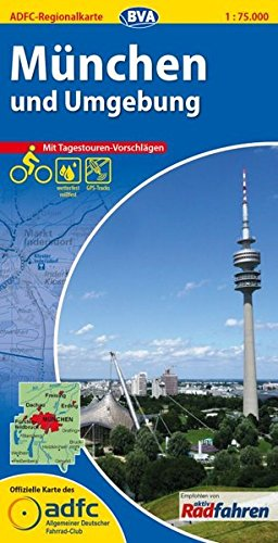 München & Umgebung GPS wp r/v cycling map: Bielefelder Verlag