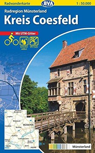 9783870735975: Radregion Münsterland/ Kreis Coesfeld 1 : 50 000. Radwanderkarte