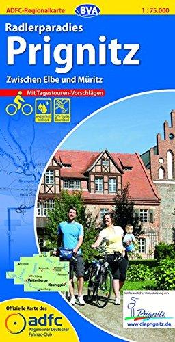 9783870736743: ADFC-Regionalkarte Radlerparadies Prignitz 1 : 75 000: Zwischen Elbe und M�ritz. Mit Tagestouren-Vorschl�gen