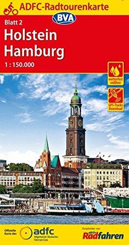 9783870737139: ADFC-Radtourenkarte 2 Holstein Hamburg 1:150.000