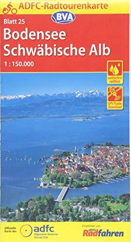 9783870737160: Bodensee / Schwäbische Alb 25 GPS wp cycling map