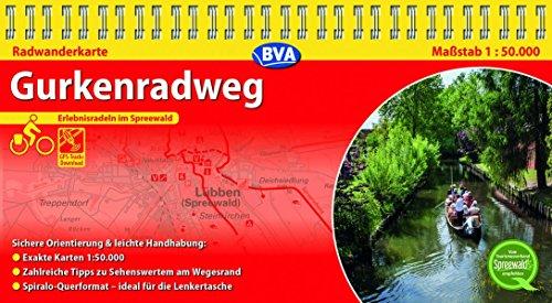 9783870737528: Kompakt-Spiralo BVA Gurkenradweg 1:50.000: Erlebnisradeln im Spreewald